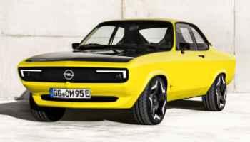Opel Manta GSe restomod и другие новости электромобилей