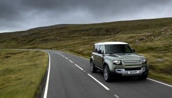 Land Rover Defender на водороде