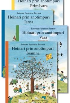Pachet Hoinari prin anotimpuri - 4 volume, Primavara, Vara, Toamna, Iarna e-carteata.ro