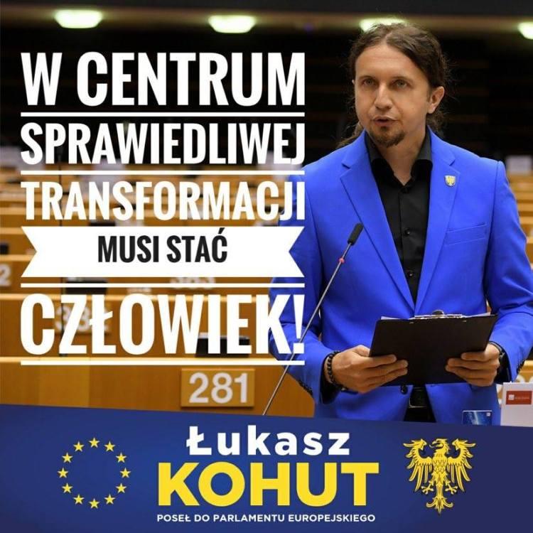List do Jarosława Kaczyńskiego od Posła do PE Łukasza Kohuta