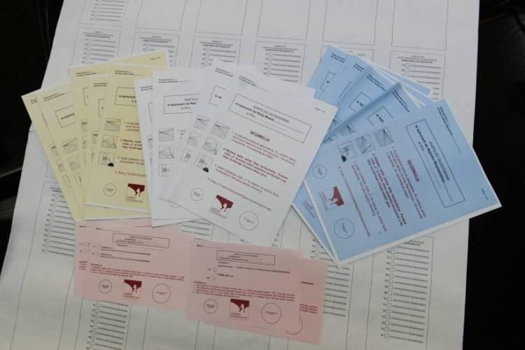 lista Obwodowych Komisji Wyborczych w Chorzowie. Rozpoczęło się głosowanie w wyborach samorządowych.