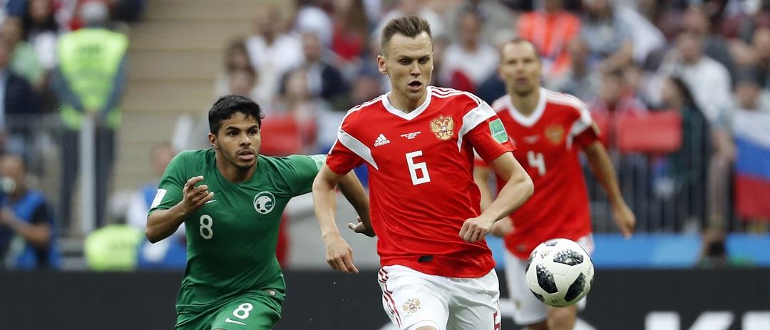 Rosja - Arabia Saudyjska 5:0