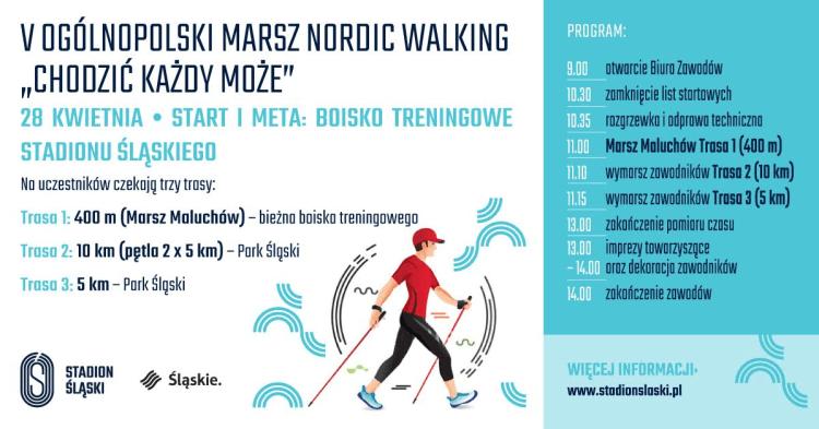 V Ogólnopolski Marsz Nordic Walking