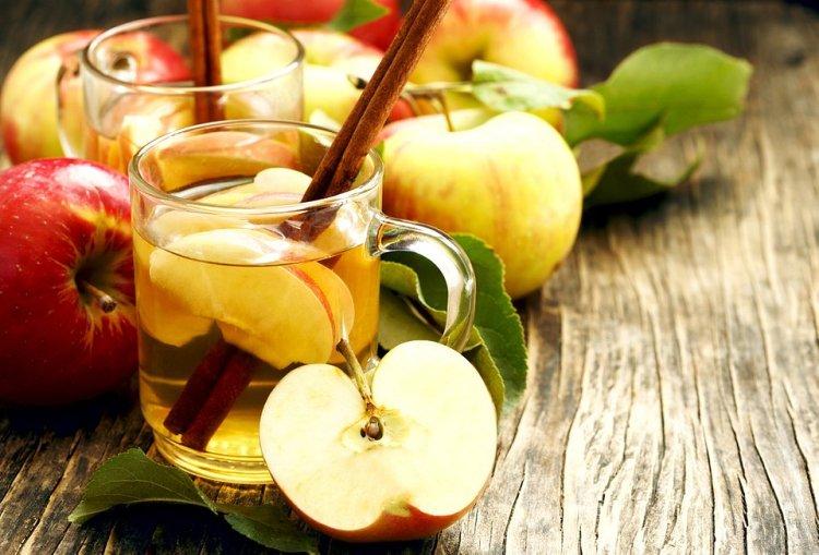 Herbata z octem jabłkowym