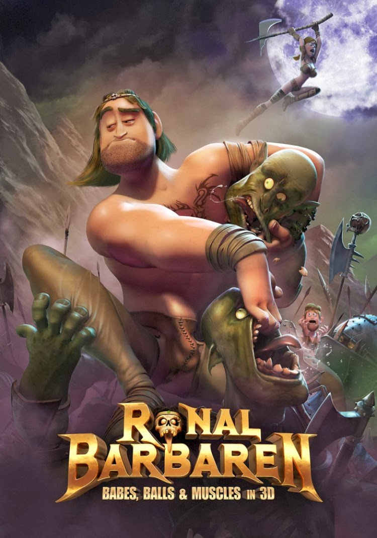 """""""Ronal The Barbarian"""" depicts sexual characteristics in 3D"""