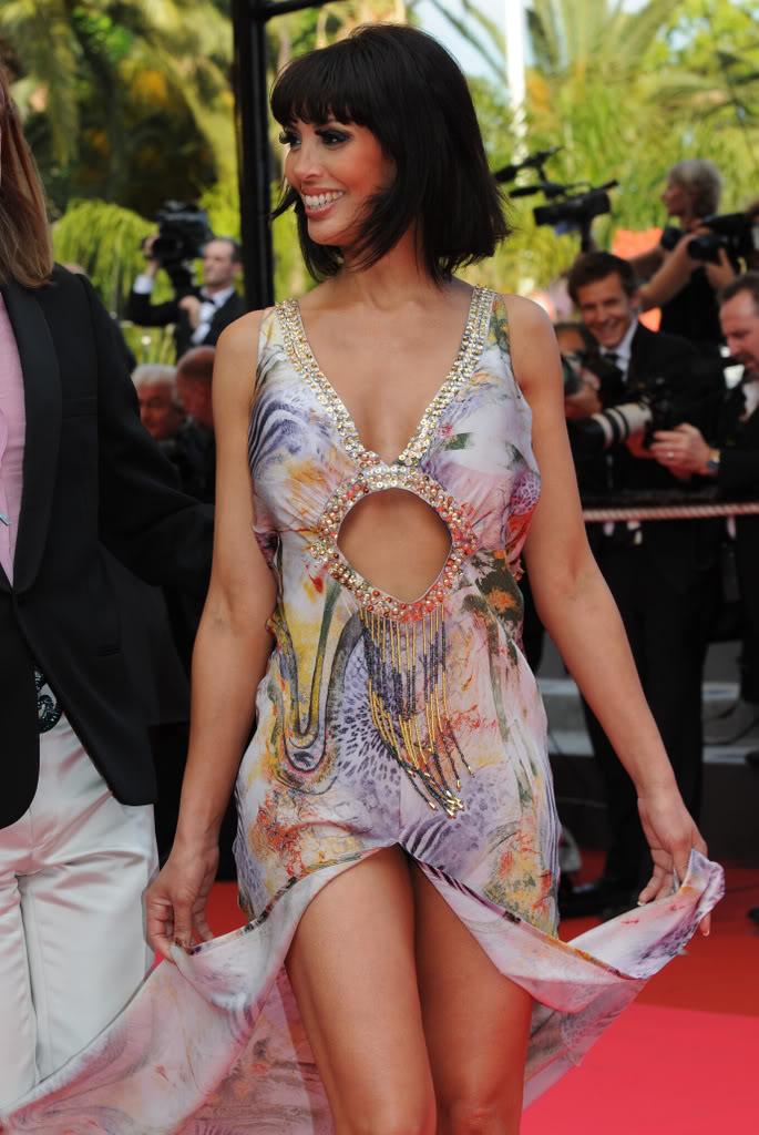 Yasmine Lafitte on the Red Carpet