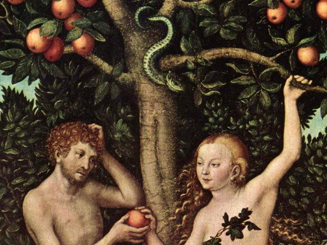 Adam and Eve's childhood