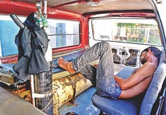 An Ambulance in Bangladesh.