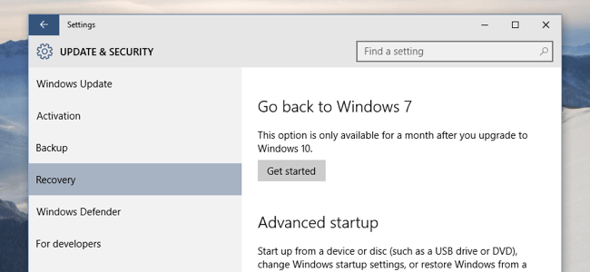 How to Get Rid of Windows 10