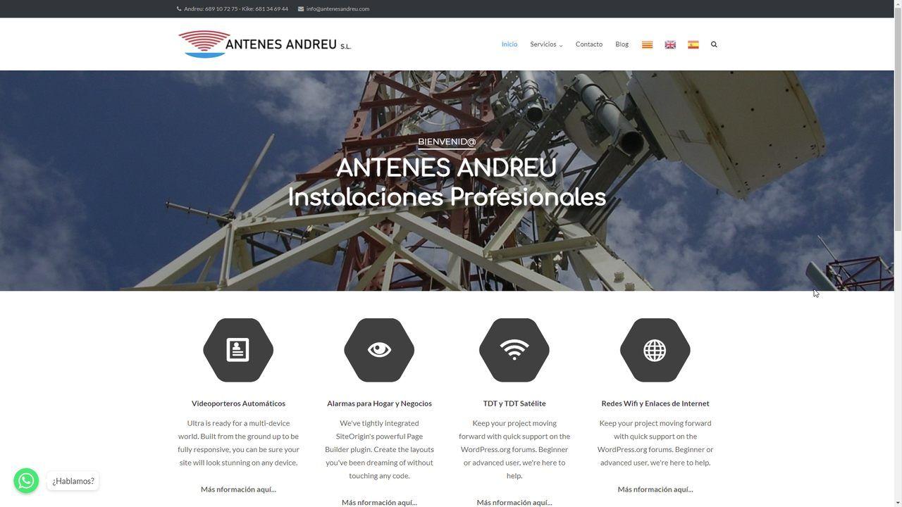 www.antenesandreu.com