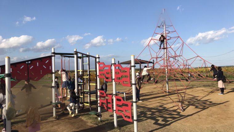 北釜防災公園児童用遊具
