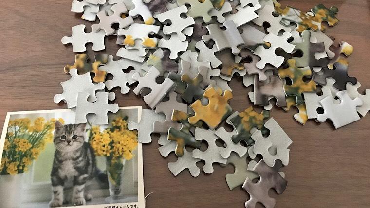 100均にもジグソーパズル108ピース売ってるの知ってた?
