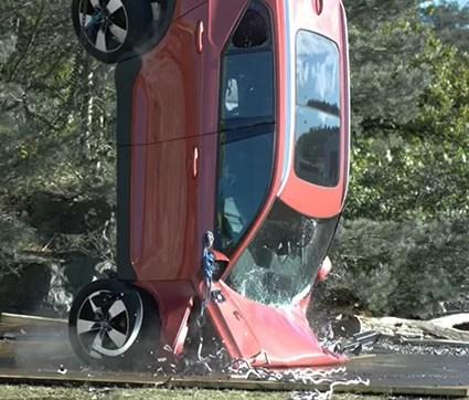 Video Volvo testes colisão