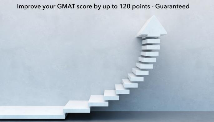 improve GMAT score by 120 points