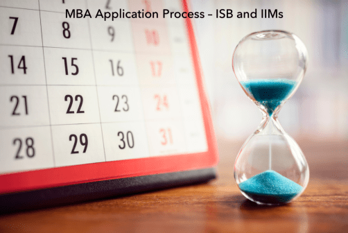 mba application process of indian business schools IIMs and ISB