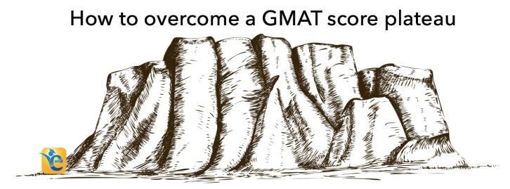 GMAT score improvement from a score plateau