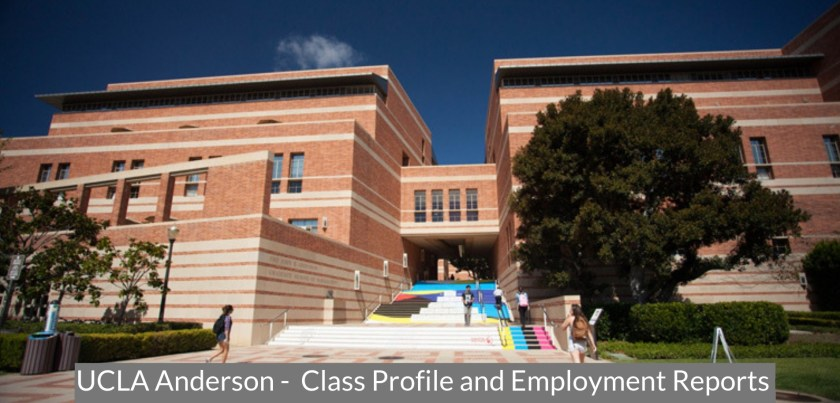 UCLA Anderson - Class Profile, Career and Employment Outcomes