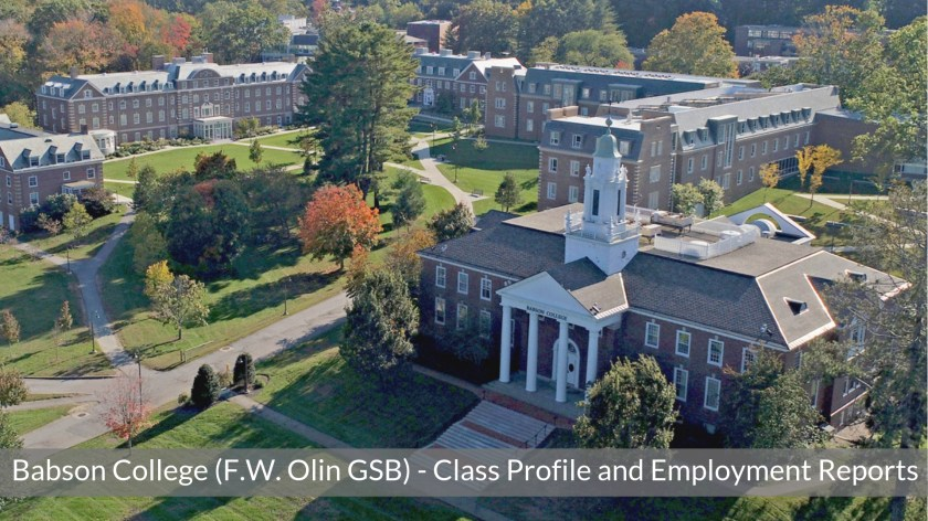 Babson College - Babson MBA Program - Class Profile, Employment Reports and Notable Alumni - Broad School of Business