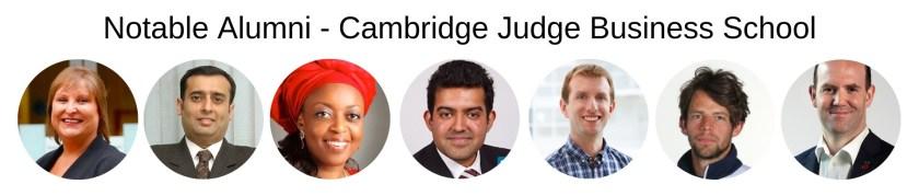 Cambridge Judge Business School MBA Program - Notable Alumni