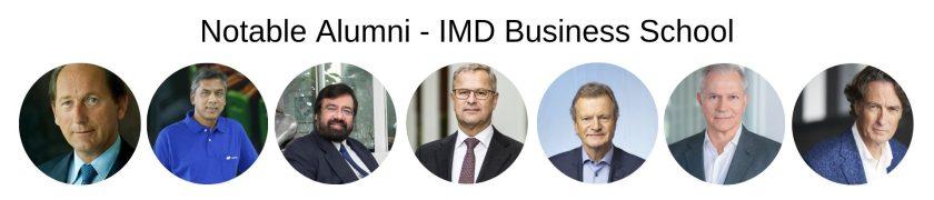 IMD Business School - IMD MBA Program - Notable Alumni