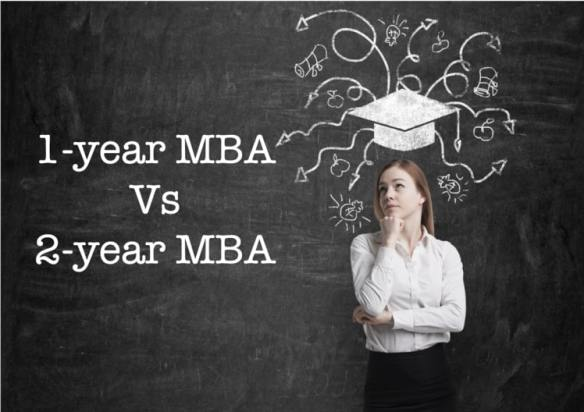 1-year MBA vs 2-year MBA pros and cons