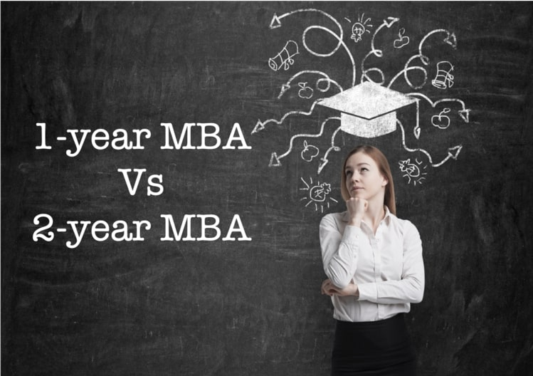 One-year MBA vs two-year MBA – Pros and Cons