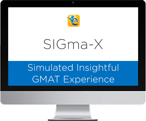 SIGma-X mocks – GMAT practice tests – Driving your personalized study plans