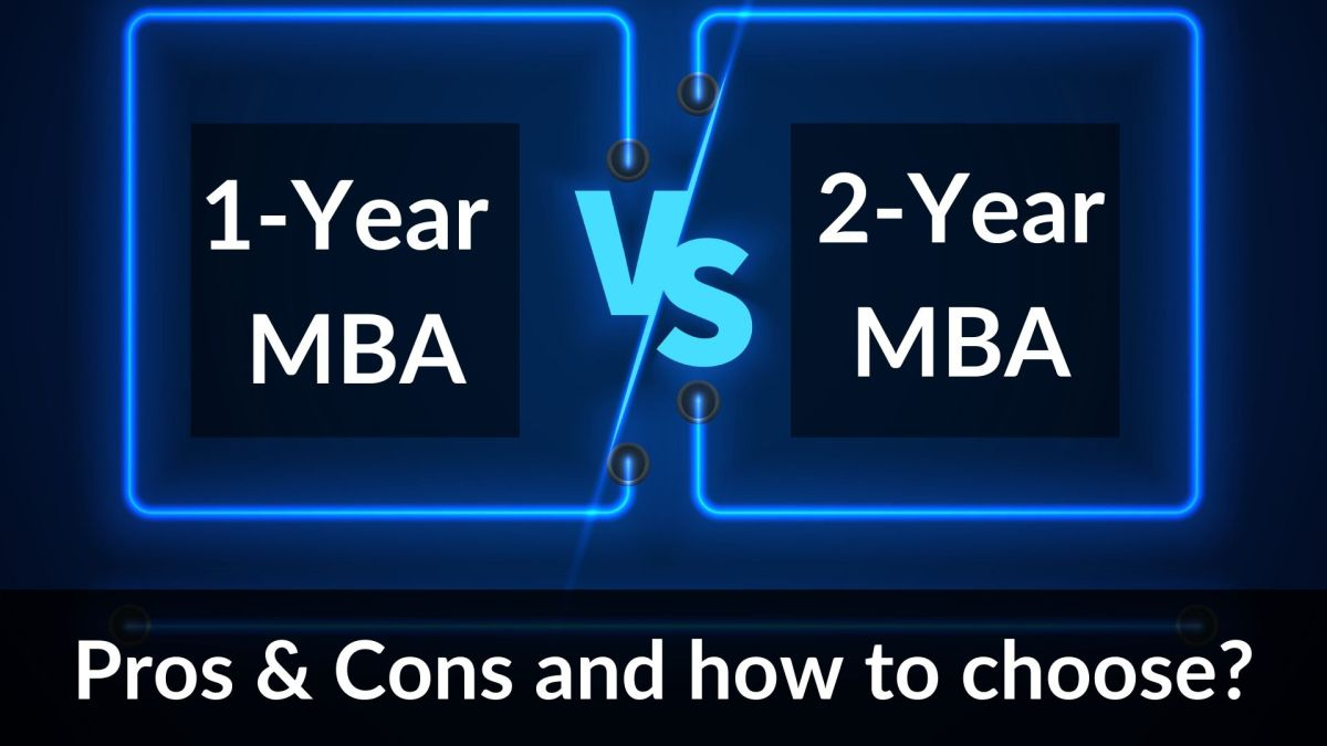 one year vs two year mba