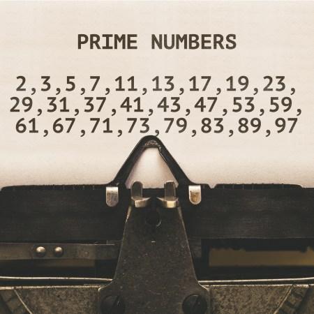 Properties of numbers - prime numbers