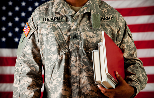 MBA Application fee waiver - Military personnel