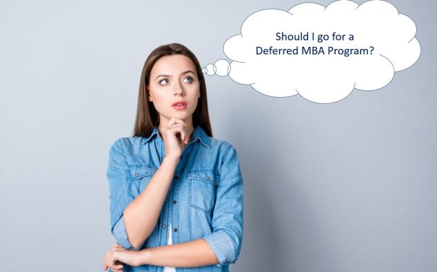 Deferred MBA Program Confusion