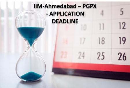 IIM Ahmedabad PGPX Application Deadlines