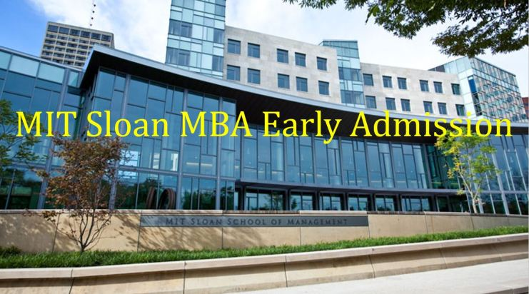 MIT Sloan Deferred MBA admissions