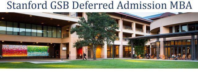 Stanford GSB Deferred Admission
