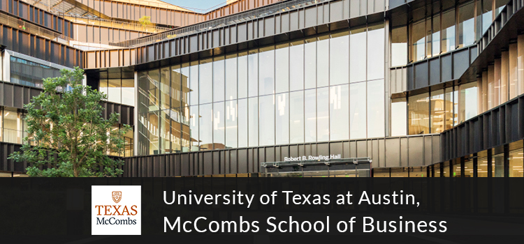 The University of Texas at Austin, McCombs School of Business