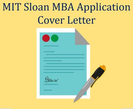 MIT SLoan MBA application cover letter