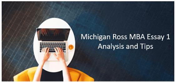 Michigan-Ross-Essays-question-1