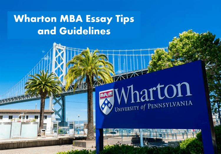 Wharton MBA essay