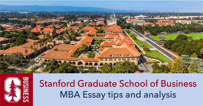 Stanford MBA essay tips and analysis