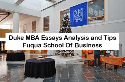 Duke-MBA-Essays-Analysis-Tips