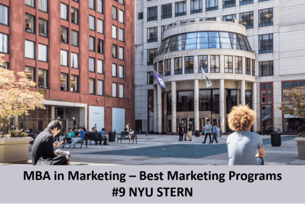 top marketing mba program