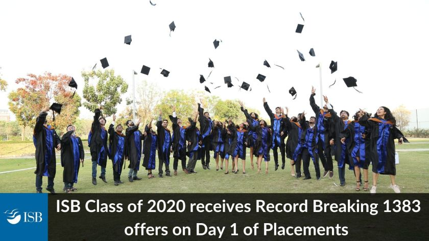ISB PGP 2020 placements - Record breaking number of offers (1)