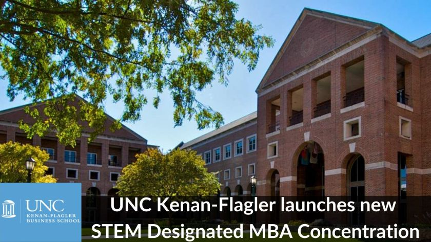 UNC Kenan-Flagler launches new STEM MBA concentration