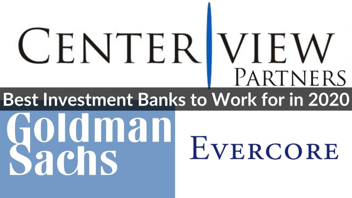 Best Investment Banks in 2020