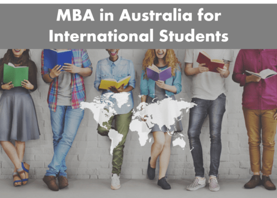 mba in australia for international students