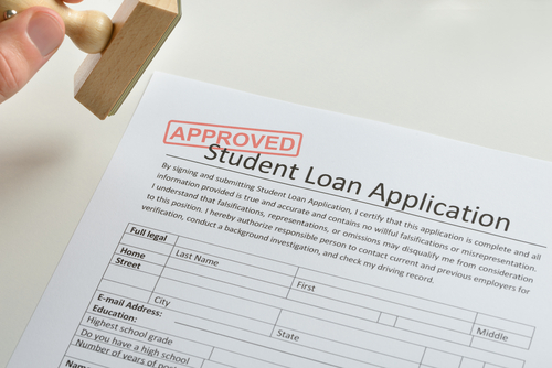 Student MBA Loan approved