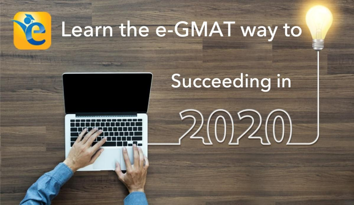 success in 2020 - The e-GMAT way