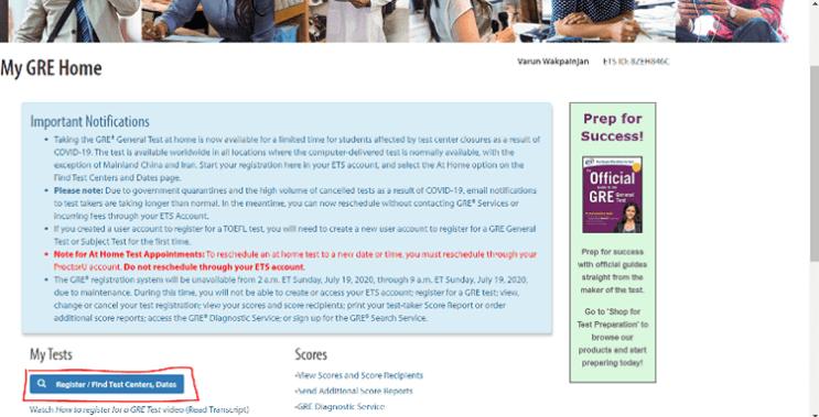 gre exam date registration 1