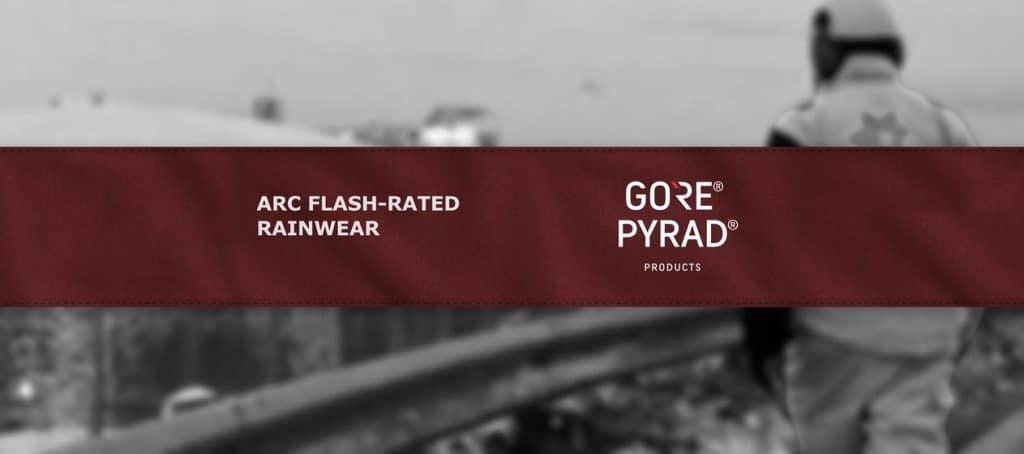 GORE-TEX Offers New AR ASTM F1891 Rainwear That's Breathable