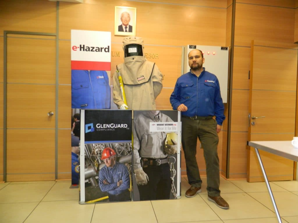 e-Hazard Electrical Safety Training Now at University of Santiago, Chile